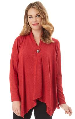 Apt. 9 Women's Button Wrap Cardigan