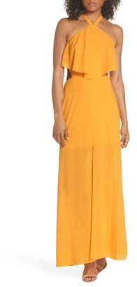 Ali & Jay Beach Club Afternoons Halter Maxi Dress