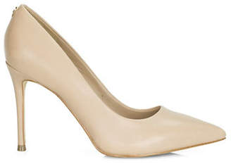GUESS Billey Point-Toe Leather Stiletto Pumps