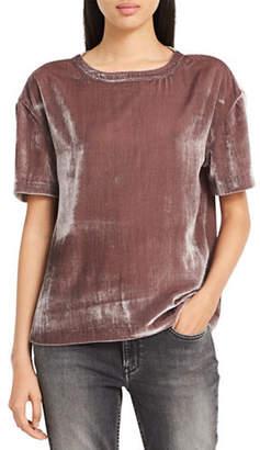 Calvin Klein Jeans Velvet Tee