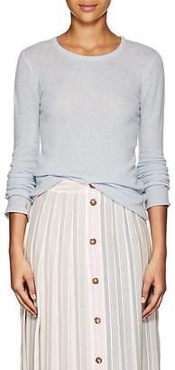 ATM Anthony Thomas Melillo Women's Heathered Cashmere Sweater - Blue