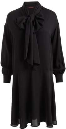 WtR - Sapphire Silk Bow Dress Black