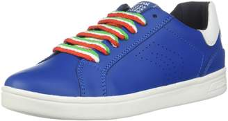 Geox Boy's J DJROCK BOY Sneakers, Royal/White