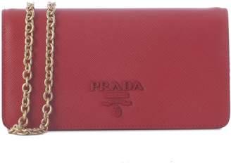 Prada Monogram Chain Wallet