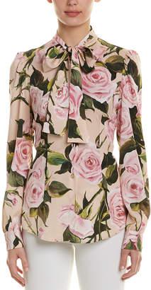 Dolce & Gabbana Scar Silk Shirt