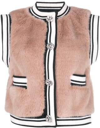 Dolce & Gabbana cropped gilet