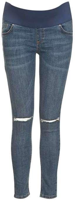 TopshopTopshop Maternity rip jamie jeans