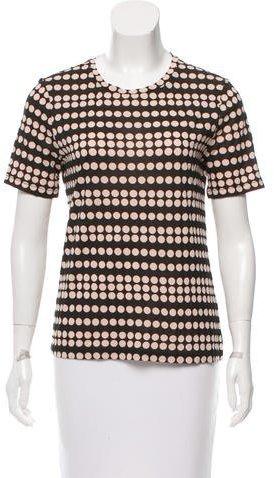 Tory BurchTory Burch Short Sleeve Polka Dot T-Shirt