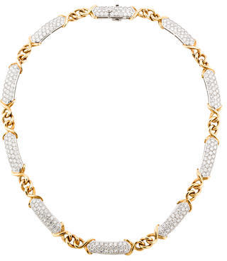Tiffany & Co. Diamond Collar Necklace $22,995 thestylecure.com