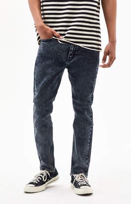 Levi's Dark Acid Wash 510 Skinny Jeans