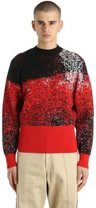 Vejas Wool Jacquard Sweater