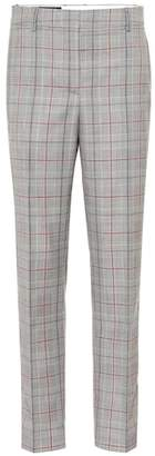 Calvin Klein Plaid wool pants