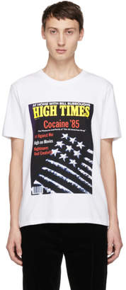Wacko Maria White High Times Edition Cocaine 85 T-Shirt