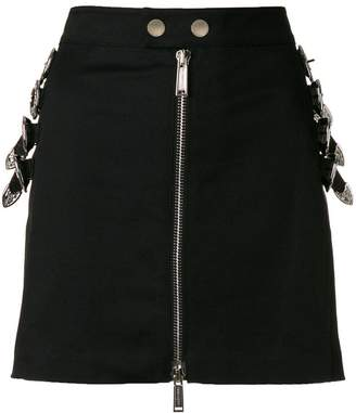 DSQUARED2 buckle-embellished mini skirt