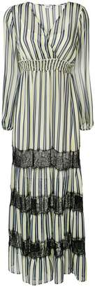 Liu Jo striped maxi dress