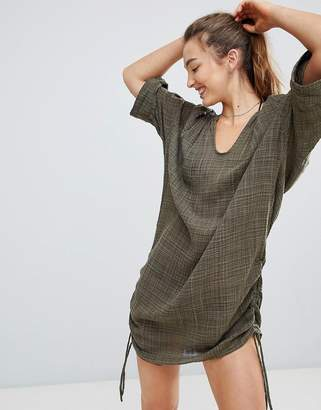 Seafolly Textured Beach Shirt
