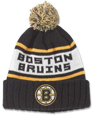 American Needle Boston Bruins Pillow Line Knit Beanie