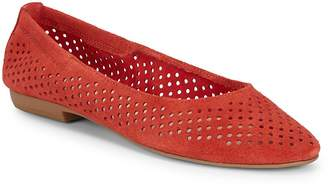 Nine West Women's Glack Perforated Suede Flats