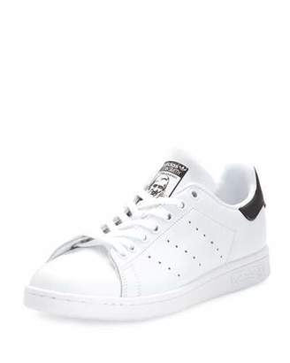 Adidas Stan Smith Fashion Sneaker, White/Core Black $75 thestylecure.com