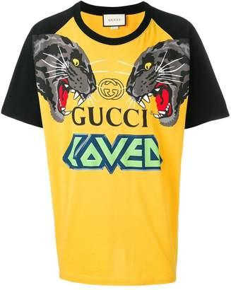 Gucci tiger printed T-shirt