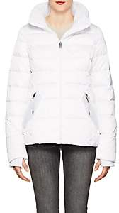 William Rast WOMEN'S HOODED PUFFER JACKET-WHITE SIZE XL