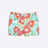 J.Crew Factory Girls' printed chino short : FactoryGirls Back to School Shop   Factory