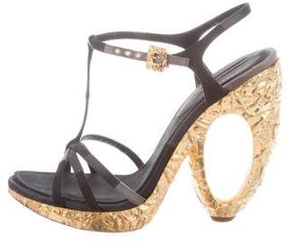 Louis Vuitton Feerique Platform Sandals