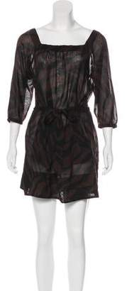 Marc Jacobs Wool Belted Dress