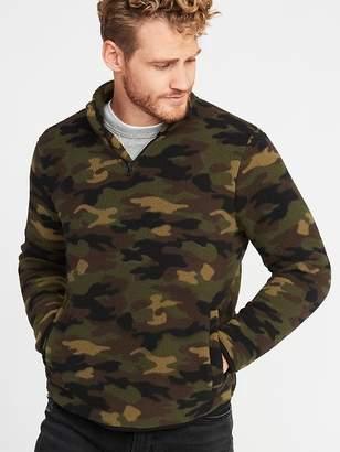 Old Navy 1/4-Zip Sherpa Popover for Men