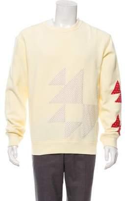 Calvin Klein Patterned Crew Neck Sweater