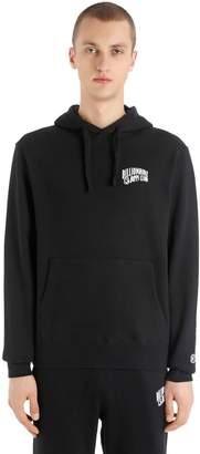 Hooded Arch Logo Cotton Sweatshirt