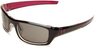 Under Armour Women's Surge 8600033-2800 Black Rectangle Sunglasses