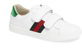 Boy's Gucci New Ace Sneaker $370 thestylecure.com