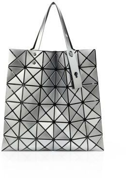 Bao Bao Issey Miyake Lucent Basic Faux Leather Tote $425 thestylecure.com