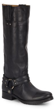 Melissa Leather Harness Boots $428 thestylecure.com