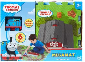 Thomas & Friends 6-Piece Foam Mega Mat & Train Set