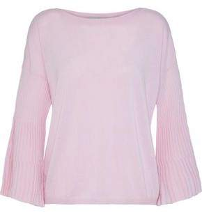 Fluted Cashmere Sweater