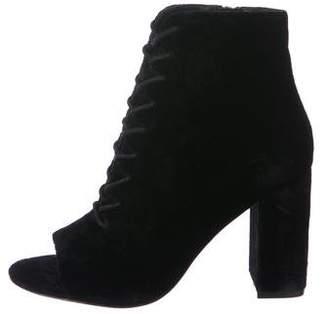Joie Velvet Ankle Boots