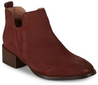 Seychelles Offstage Nubuck Leather Ankle Booties