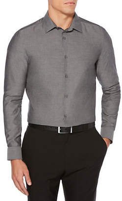 Perry Ellis Resist Spill Slim-Fit Cotton Sport Shirt