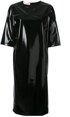 A.F.Vandevorst wet look T-shirt dress