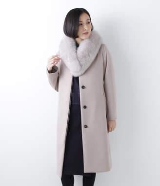 NEWYORKER women's 【店舗限定】カシミヤビーバー ステンカラー比翼コート
