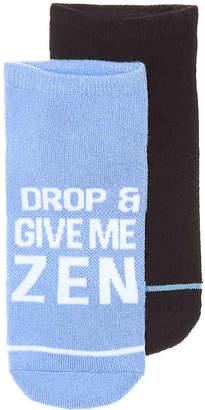 Steve Madden Yoga Zen No Show Socks - 2 Pack - Women's