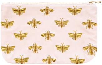 Elizabeth Scarlett - Amara X ES Velvet Bee Travel Pouch - Rosewater