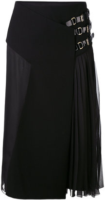 Lanvin pleated midi skirt $2,565 thestylecure.com