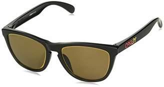 d94024ba0 Oakley Men's Frogskins (a) Non-Polarized Iridium Rectangular Sunglasses