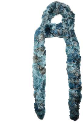 Missoni Fringed striped scarf
