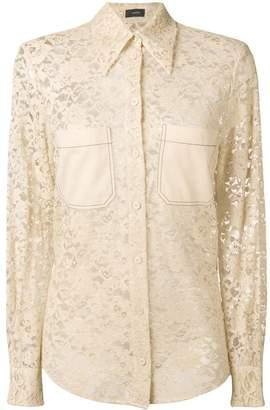 Joseph Robin Palermo lace blouse