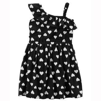 Carter's Sleeveless Floral A-Line Dress - Toddler Girls