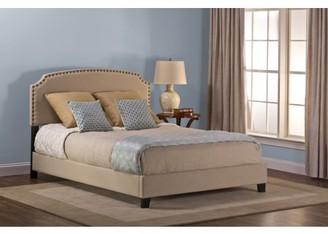 Hillsdale Furniture Upholstered Lani Bed with Rails Included, Twin Size, Cream